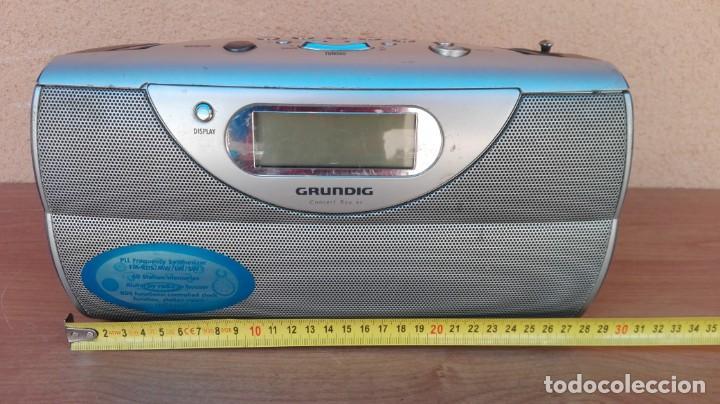 Radios antiguas: RADIO TRANSISTOR DIGITAL GRUNDIG CONCERT BOY 80 FUNCIONANDO - Foto 12 - 132572006