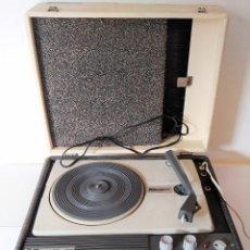Radios antiguas: TOCADISCOS PORTATIL KONIQER JUNIOR ANTIGUO GIRADISCOS VINILO DISCO. Lote 132832698