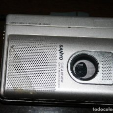 Radios antiguas: CASETE GRABADORA SANYO CUE & REVIEW. Lote 133016822