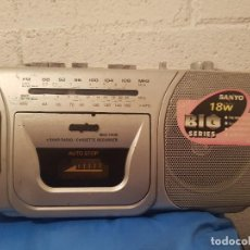 Radios antiguas: RADIOCASSETTE AÑOS 90 SANYO. Lote 137987440