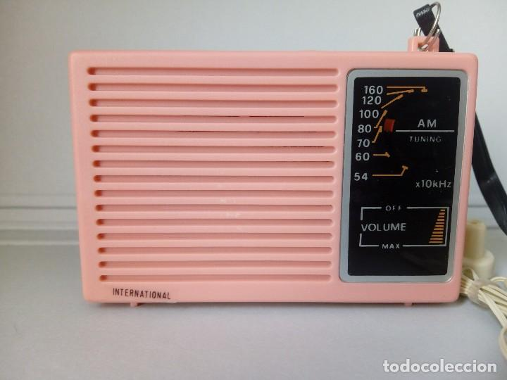 Radios antiguas: Radio transistor International IC88 - Foto 1 - 144835080