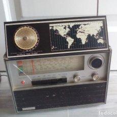Radios antiguas: ANTIGUA RADIO LANCIA, SOLID STATE MULTIBAND MODELO NO. 24F2, 24F 2. 220 V.50HZ 5W. Lote 133310810