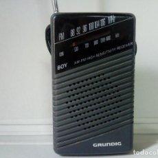 Radios antiguas: RADIO TRANSISTOR GRUNDIG BOY 45. Lote 133318822