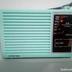 Radios antiguas: RADIO TRANSISTOR INTERNATIONAL IC-88. Lote 154832498