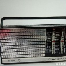 Radios antiguas: RADIO TRANSISTOR PHILIPS NANETTE DE LUXE. Lote 133396626