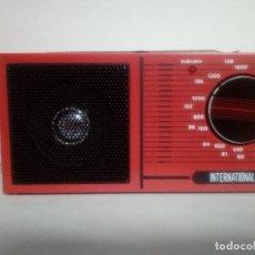Radios antiguas: RADIO TRANSISTOR INTERNATIONAL. Lote 133423294