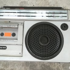 Radios antiguas: CASSETTE SANYO UNA PLETINA VINTAGE. PARA PIEZAS. Lote 133437121