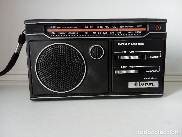 32-RADIO TRANSISTOR IMPEL SÓLID STATE (Radios, Gramófonos, Grabadoras y Otros - Transistores, Pick-ups y Otros)