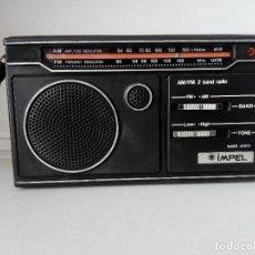 Radios antiguas: 32-RADIO TRANSISTOR IMPEL SÓLID STATE. Lote 133529266