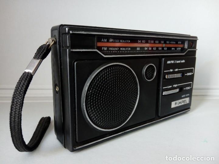 Radios antiguas: 32-Radio transistor Impel sólid state - Foto 4 - 133529266