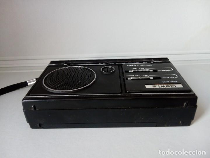 Radios antiguas: 32-Radio transistor Impel sólid state - Foto 5 - 133529266