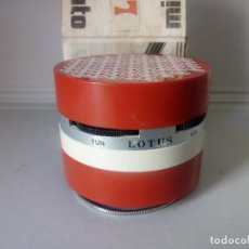Radios antiguas: RADIO TRANSISTOR LOTUS MINIAUTO. Lote 133624606
