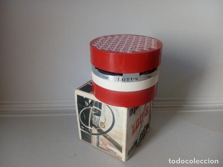 Radios antiguas: 280-Radio transistor Lotus miniauto - Foto 5 - 133624606