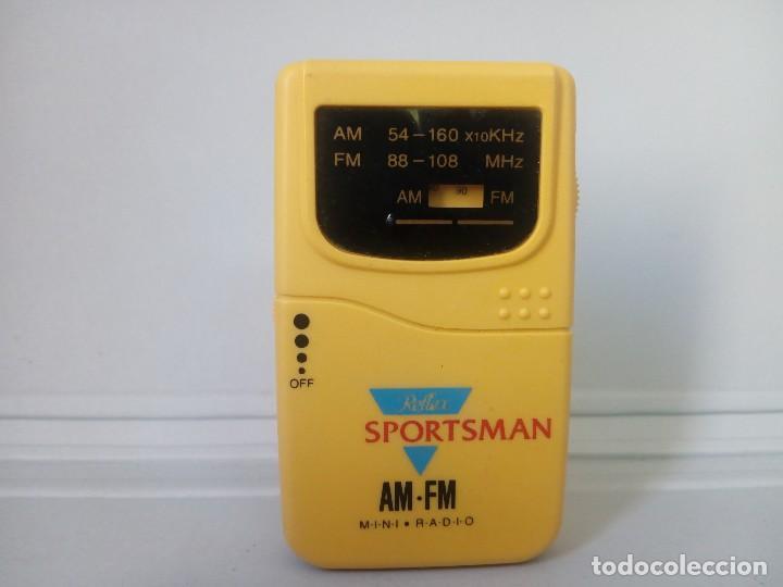 RADI TRANSISTOR REFLEX SPORTSMAN (Radios, Gramófonos, Grabadoras y Otros - Transistores, Pick-ups y Otros)