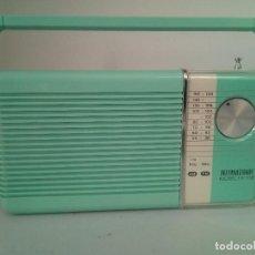 Radios antiguas: RADIO TRANSISTOR INTERNATIONAL FX-138. Lote 133646670