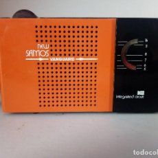 Radios antiguas: 181-RADIO TRANSISTOR VANGUARD NEW SAMOS. Lote 133711794