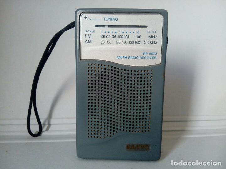 39-RADIO TRANSISTOR SANYO RP 5072 (Radios, Gramófonos, Grabadoras y Otros - Transistores, Pick-ups y Otros)