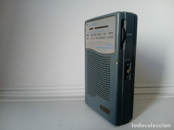 Radios antiguas: 39-Radio transistor Sanyo RP 5072 - Foto 2 - 133717674