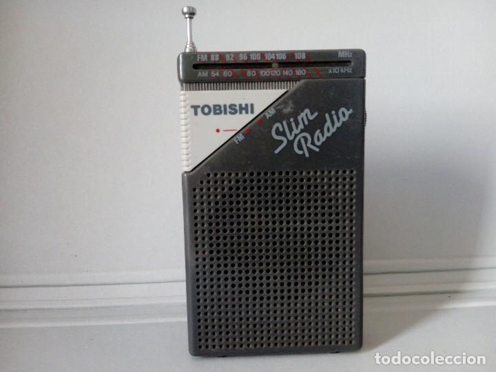 RADIO TRANSISTOR TOBISHI (Radios, Gramófonos, Grabadoras y Otros - Transistores, Pick-ups y Otros)