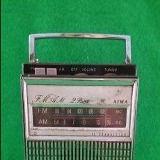 Radios antiguas: RADIO TRANSISTOR AIWA. Lote 133846890