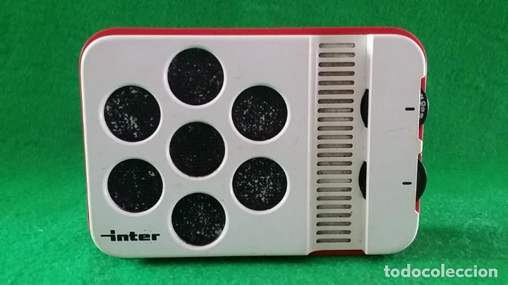 RADIO TRANSISTOR INTER E 144 (Radios, Gramófonos, Grabadoras y Otros - Transistores, Pick-ups y Otros)