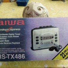 Radios antiguas: WALKMAN AIWA HS-TX486. Lote 141931132