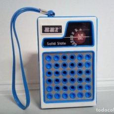 Radios antiguas: RADIO TRANSISTOR EEI SOLID STATE.. Lote 134061138