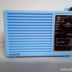 Radios antiguas: RADIO TRANSISTOR INTERNATIONAL. Lote 154832380