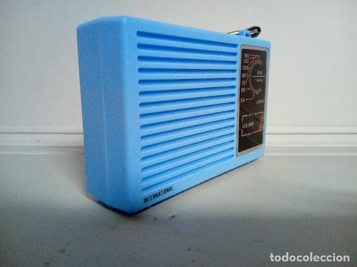 Radios antiguas: Radio transistor International - Foto 4 - 154832380