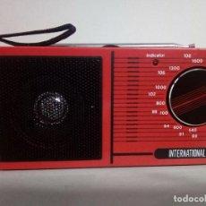 Radios antiguas: RADIO TRANSISTOR INTERNATIONAL 832. Lote 134072654