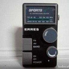 Radios antiguas: 49-RADIO TRANSISTOR ERRES NT3002. Lote 180033648