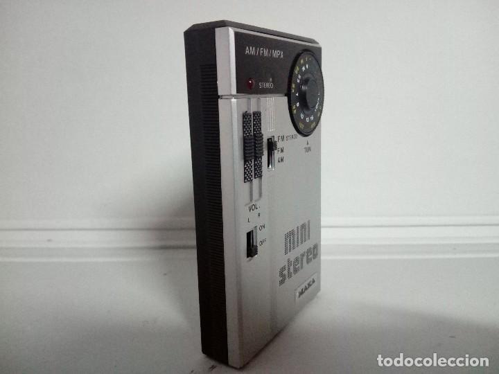 Radios antiguas: 259-Mini radio transistor Maka - Foto 3 - 189774476