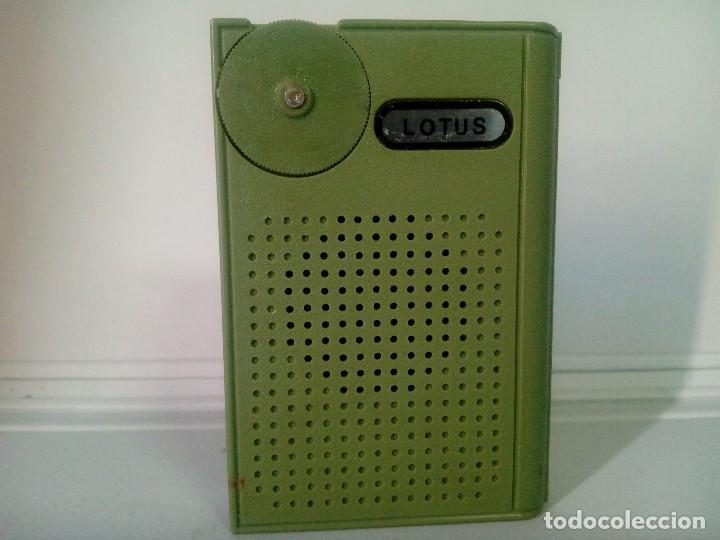 326-RADIO TRANSISTOR LOTUS MINI 7SOLID STATE (Radios, Gramófonos, Grabadoras y Otros - Transistores, Pick-ups y Otros)