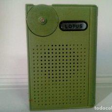 Radios antiguas: RADIO TRANSISTOR LOTUS MINI 7SOLID STATE. Lote 134436478