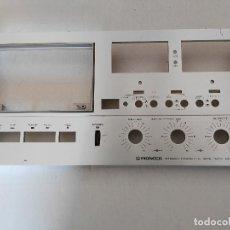 Radios antiguas: PIONEER / FRONTAL EN ALUMINIO DE 5 M/M. DE LA PLETINA CT F-9191 (1975-77). Lote 134791274