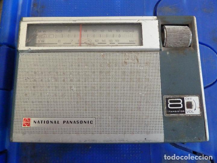 RADIO TRANSISTOR NATIONAL PANASONIC 8 TRANSISTOR (Radios, Gramófonos, Grabadoras y Otros - Transistores, Pick-ups y Otros)