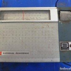 Radios antiguas: RADIO TRANSISTOR NATIONAL PANASONIC 8 TRANSISTOR. Lote 134844630