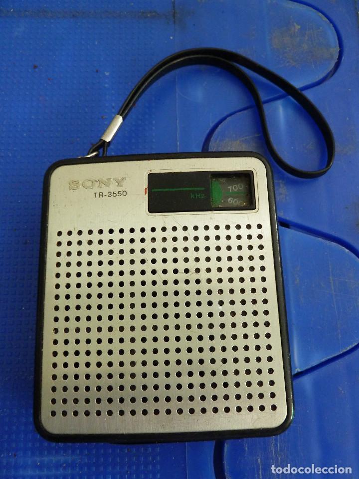 RADIO TRANSISTOR SONY TR-3550 (Radios, Gramófonos, Grabadoras y Otros - Transistores, Pick-ups y Otros)