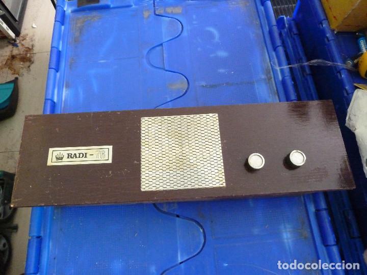 RADIO TRANSISTOR RADI-76 (Radios, Gramófonos, Grabadoras y Otros - Transistores, Pick-ups y Otros)