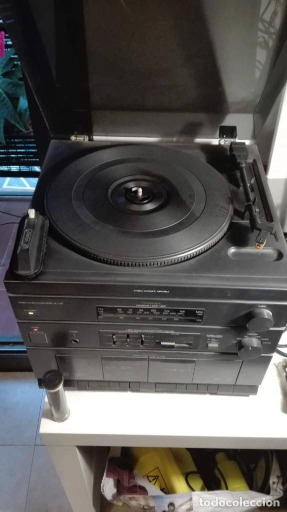 Radios antiguas: cadena de musica toshiba - Foto 2 - 134986034
