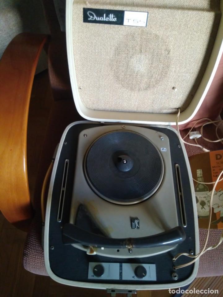 Radios antiguas: TOCADISCOS DUAL 300 - Foto 2 - 134993598