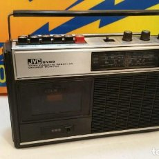 Radios antiguas: RADIO CASSETTE RECORDER JVC NIVICO. Lote 189486258