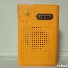 Radios antiguas: RADIO TRANSISTOR LOTUS. Lote 135286974