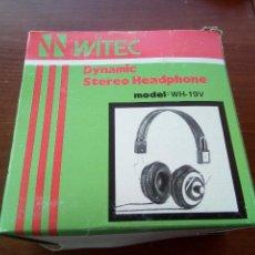 Radios antiguas: AURICULARES WITEC MODELO WH-19V. Lote 135341914