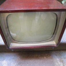 Radios antiguas: ANTIGUA TELEVISION TELEVISOR ' PHILIPS ' A VALVULAS, DE LOS 50/60'S - BIEN CONSERVADA + INFO Y FOTOS. Lote 135467446