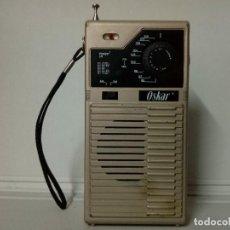 Radios antiguas: RADIO TRANSISTOR OSKAR. Lote 135494230