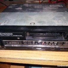 Radios antiguas: RADIOCASETTE PIONEER KP 2050 AM/FM COCHE VINTAGE ALTA SENSIBILIDAD ACCESORIOS. Lote 135635859