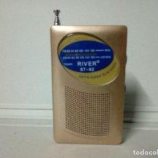 Radios antiguas: 189-RADIO TRANSISTOR RIVER ST-62. Lote 135801114