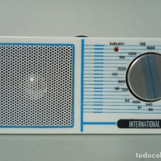 Radios antiguas: RADIO TRANSISTOR INTERNATIONAL 832. Lote 135839914