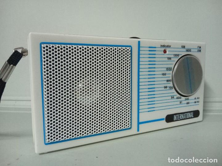 Radios antiguas: Radio transistor International 832 - Foto 4 - 135839914